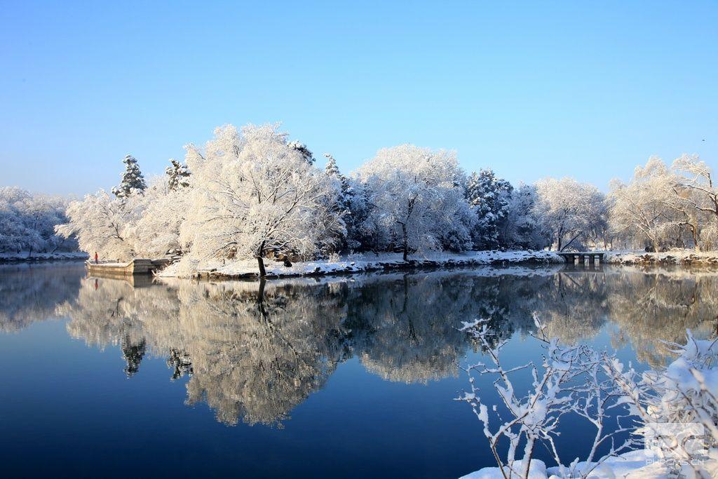 北京大学雪景