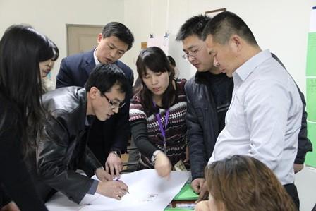 清华大学实战营销班课堂实践活动