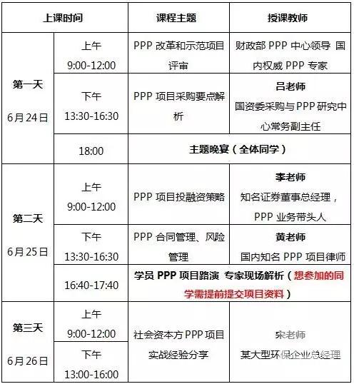 6月课程ppp