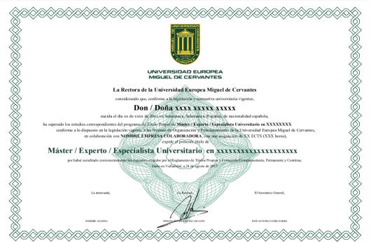 欧洲塞万提斯大学MBA学位 欧洲塞万提斯大学MBA班 欧洲塞万提斯大学硕士班 欧洲塞万提斯大学硕士学位班