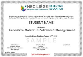 比利时列日大学HEC班 比利时列日大学高级管理学位班 比利时列日大学企业管理学位班 比利时列日大学HEC硕士班
