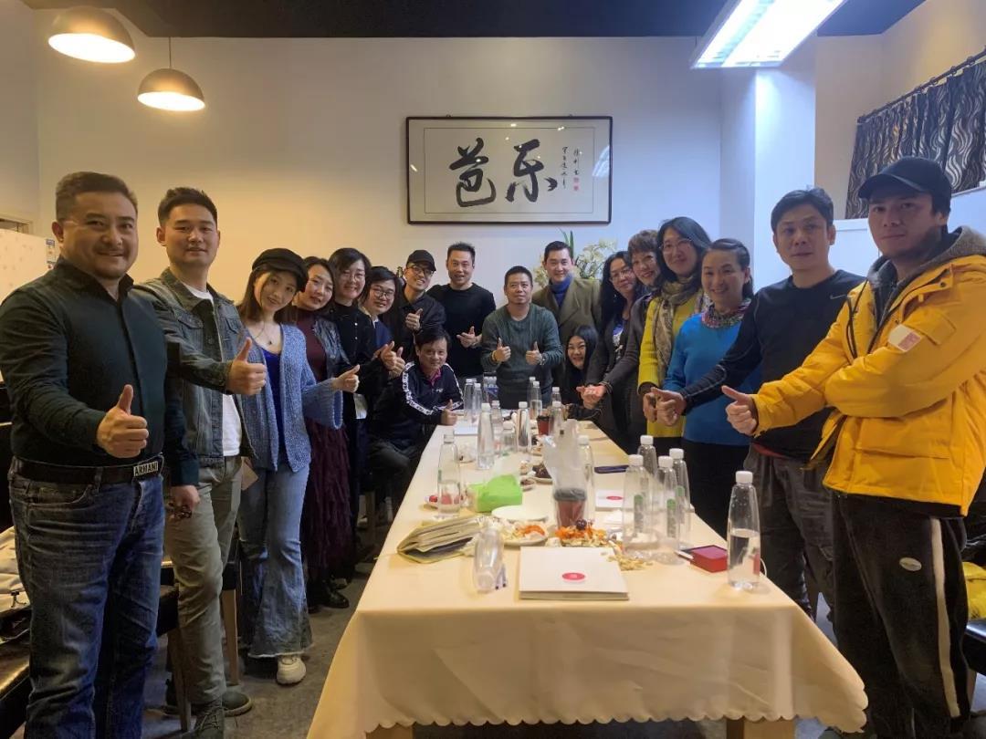 北京电影学院影视金融班参访芭乐传媒:数据创精品,技术立发行