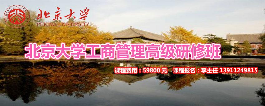 2020年北京大学工商管理高级研修班